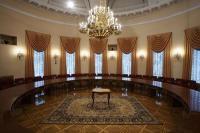 фотосъёмка интерьеров Дома Союзов, фотосъёмка интерьеров для подарочного издания, зал совещаний.