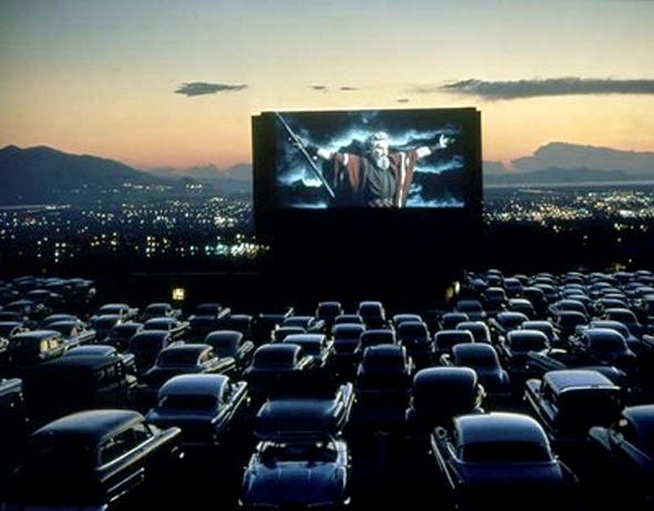 A drivein theater in New York helped a woman who went
