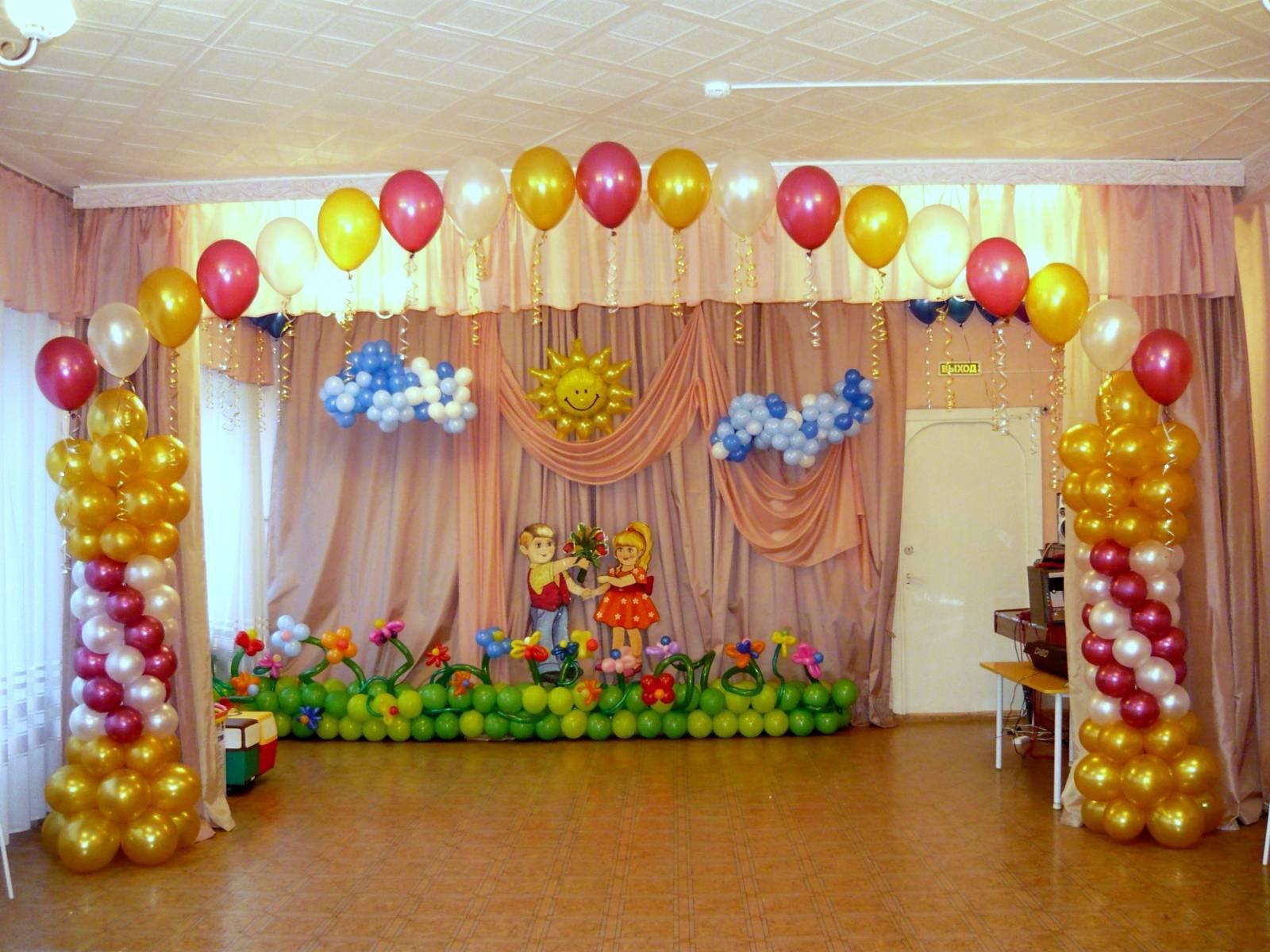Оформление музыкального зала на выпускной в детском саду. красивые ники для для девочек красивыми русскими буквами.