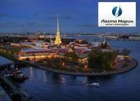 Водные экскурсии по рекам и каналам Санкт-Петербурга, теплоходная прогулка на разводные мосты, аренда теплохода на банкеты, дни рождения, свадьбы, фуршеты, корпоративы и не только от судоходной компании «Лахта Марин». Скидка до 50%