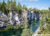 Успей посетить легендарный тур «На ретро-паровозе в сказочную Карелию» с посещением мраморного каньона Рускеала со скидкой 44%! Назад в будущее!