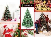 Новогодние искусственные ели с шишками высотой до 270 см с эффектом инея в интернет-магазине «2017 елок». Скидка до 54%