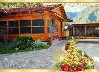 Отдых на Алтае: 2 или 5 суток проживания для двоих, троих или четверых в номере выбранной категории с завтраками на базе отдыха «Околица». Скидка 50%