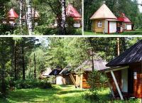 Отдых в Горном Алтае с проживанием в благоустроенном коттедже, зимнем или студенческом домике на базе отдыха «Красные купола». Скидка до 57%