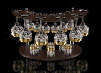 Наборы бокалов, стаканов, салатников и другой посуды из хрусталя и стекла от интернет-магазина «Crystal-Decor». Жизнь в роскошной обстановке! Скидка до 79%