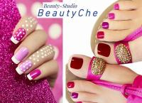Ухоженные и аккуратные ногти со стильным дизайном - это просто в новом салоне красоты «BeautyChe» у метро Академическая. Маникюр и педикюр со скидкой до 75%