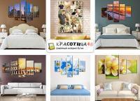 Модульные картины, печать фото или картины на холсте разных форматов от компании «Красотища 48». Скидка до 55%