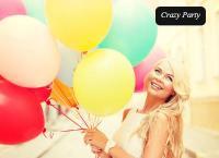 Гелиевые шары и букеты из воздушных шаров от компании Crazy Party. Скидка до 60%