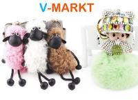Брелок, сумка-рюкзак или шарф из меха от интернет-магазина V-Markt. Скидка до 81%