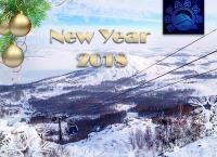 Волшебный Новый год и Новогодние каникулы для компании в гостинице «Евразия» на озере Банное: горнолыжные трассы, каток, парк динозавров, бани, бассейн, катание на лошадях, квадроциклах и экскурсии со скидкой 50%