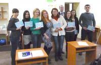 Бухгалтерские курсы «Голден Стафф»: сертификаты вручены и добро пожаловать на новую сессию в январе!